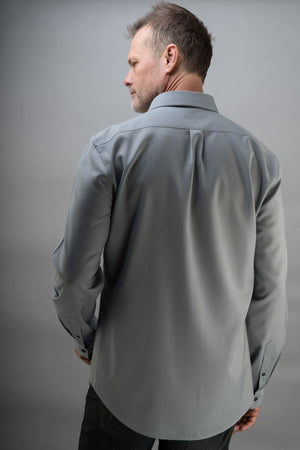 Double Chest Pocket Merino Travel Shirt