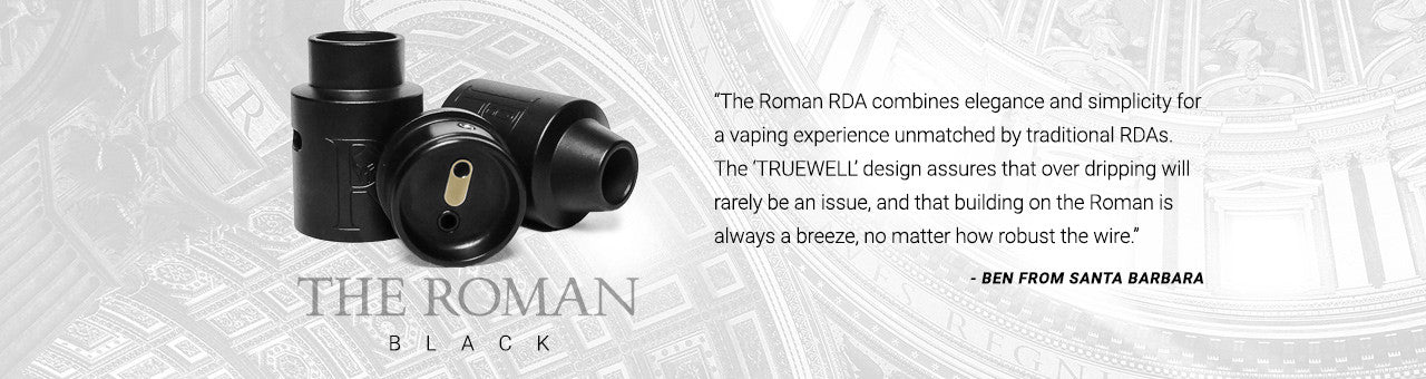 The Roman RDA - BLACK - by SUPERARI