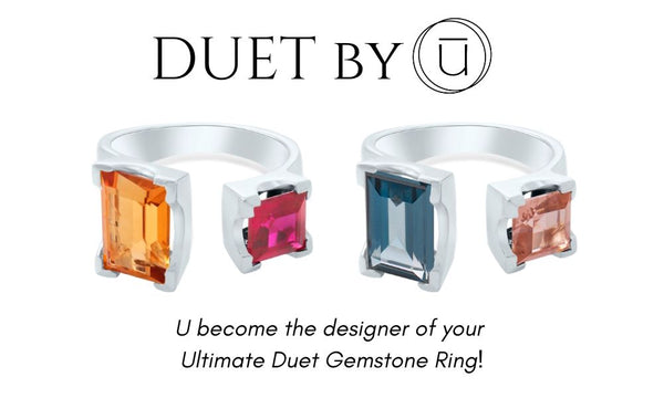 Duet By U Gemstone Rings