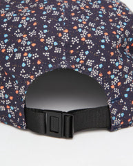 Panel Cap In Navy Floral