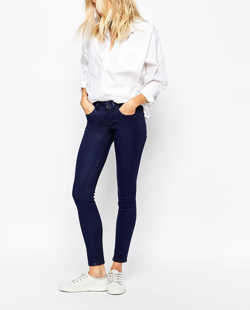 Rise Skinny Jeans