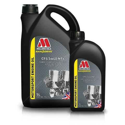 Millers Oils CFS 5w40 NT+ Engine Oil