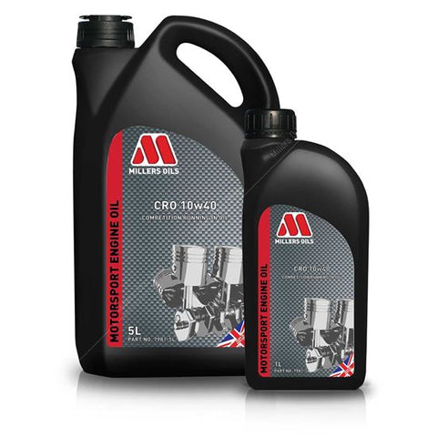 Millers Oils CFO 10W40 Running In Engine Oil 5Ltr