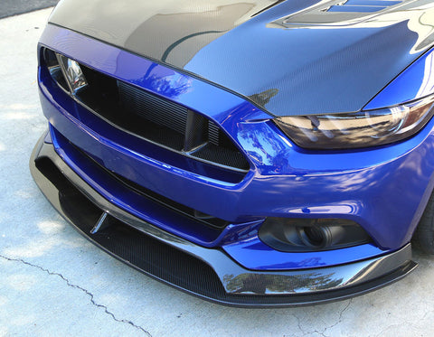Mustang 5.0 V8 & 2.3 EcoBoost Anderson Composites Carbon Front Chin Splitter
