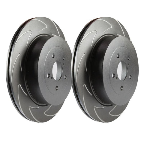 Fiesta ST Mk6 EBC BSD Sport Rear Brake Disc Set