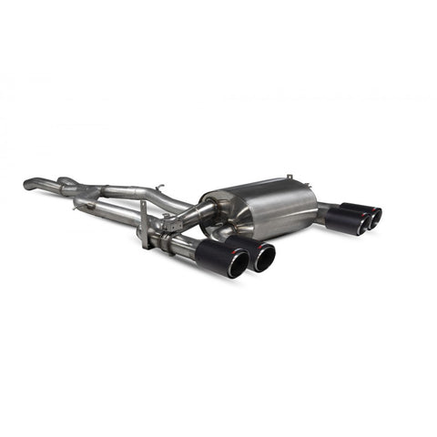 BMW M3 F80 SCORPION EXHAUST NON RES CAT-BACK SYSTEM WITH VALVE