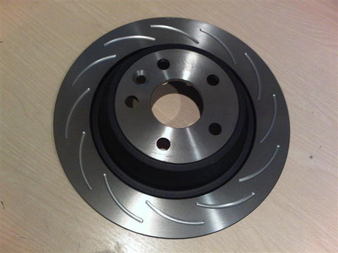 Focus RS MK2 12-Groove Rear Discs