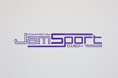 JamSport Sticker 30cm x 5cm Pair