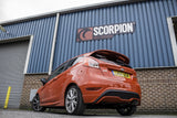 Fiesta MK7 1.0 EcoBoost Scorpion Exhaust Cat Back System (ST Valance)