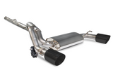 Focus RS MK3 Scorpion Exhaust Cat Back System with No Valve