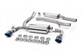 Focus RS MK3 Milltek Sport Resonated Cat Back System