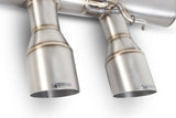MK6 Golf R Scorpion Exhaust Non Resonated Titanium Turbo Back System
