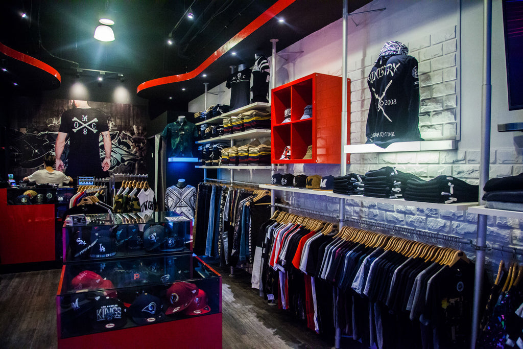 Urban legends clothing store