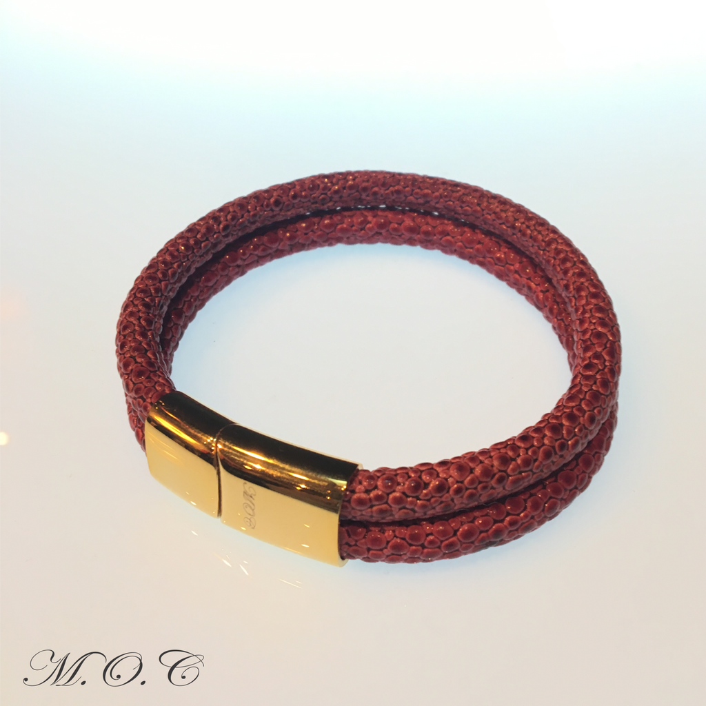 Due Red Sting Bracelet