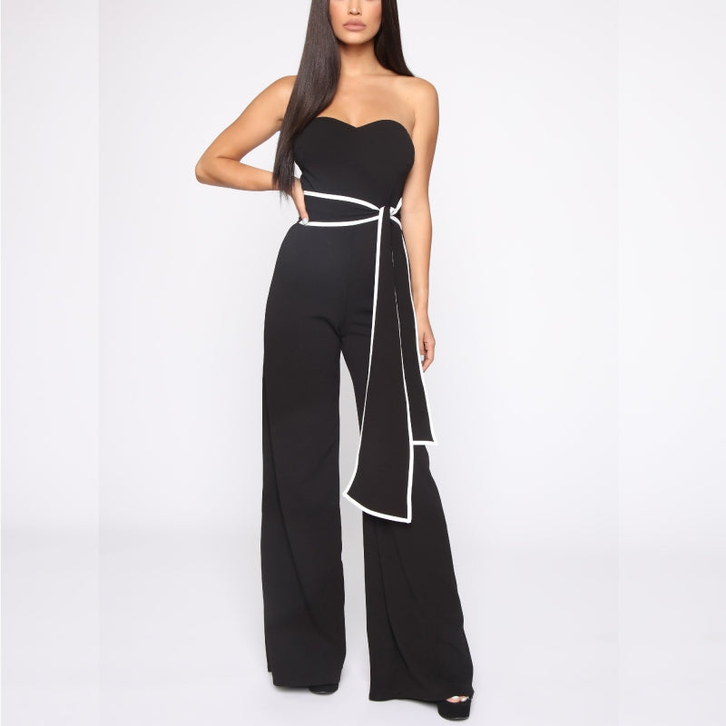 Fine Like Wine Jumpsuit Black