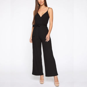 Back to Basics Jumpsuit Black