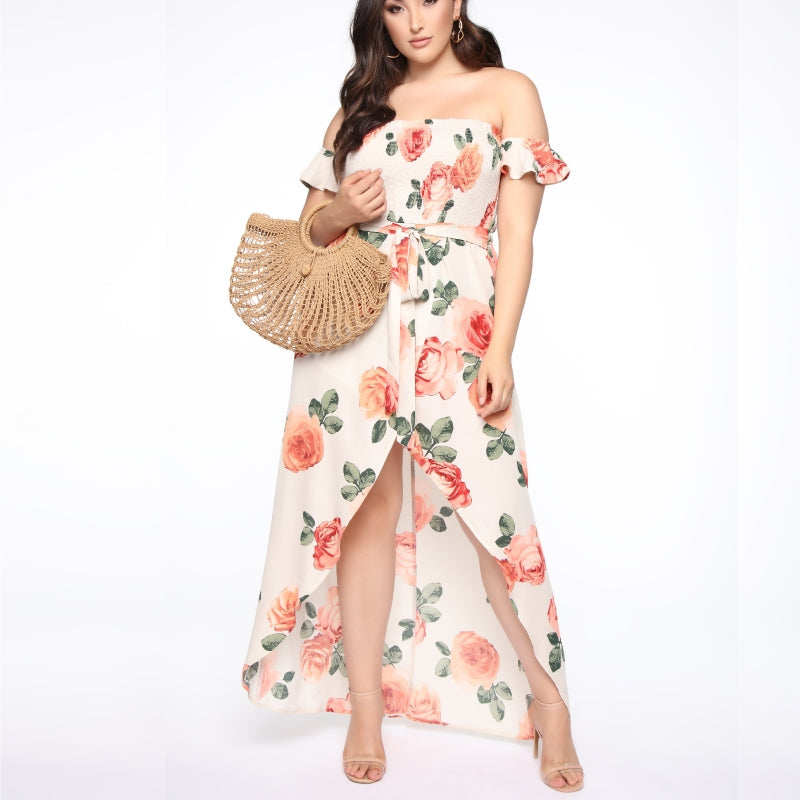 Floral Fairy Tale Maxi Dress
