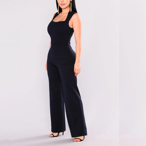 In the Navy Jumpsuit