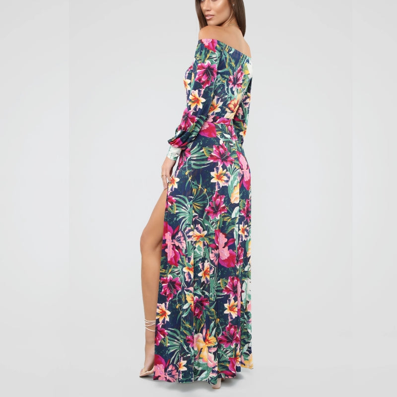 Fun In Floral Maxi Romper