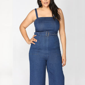 Dressing in Denim Jumpsuit