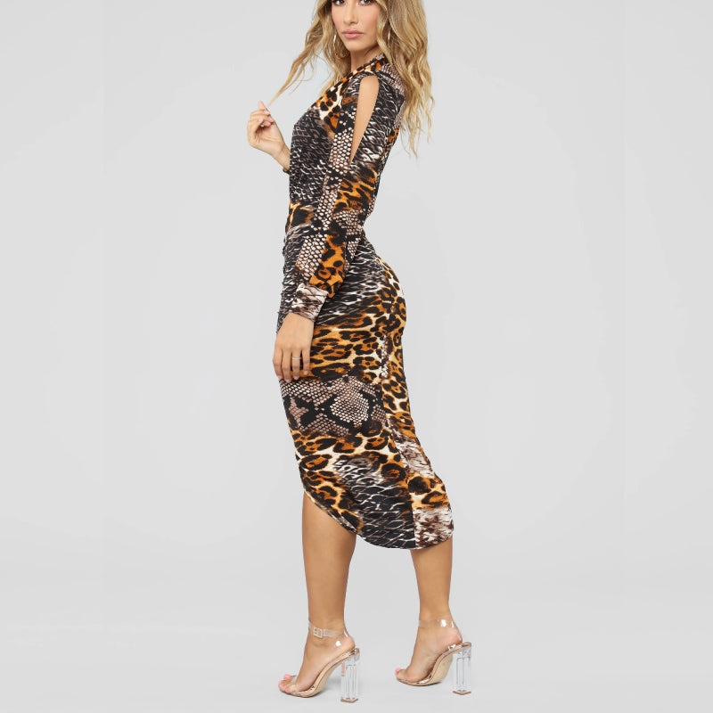 In the Woods Midi Dress