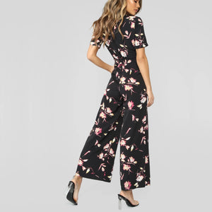 Blooming Flowers Jumpsuit