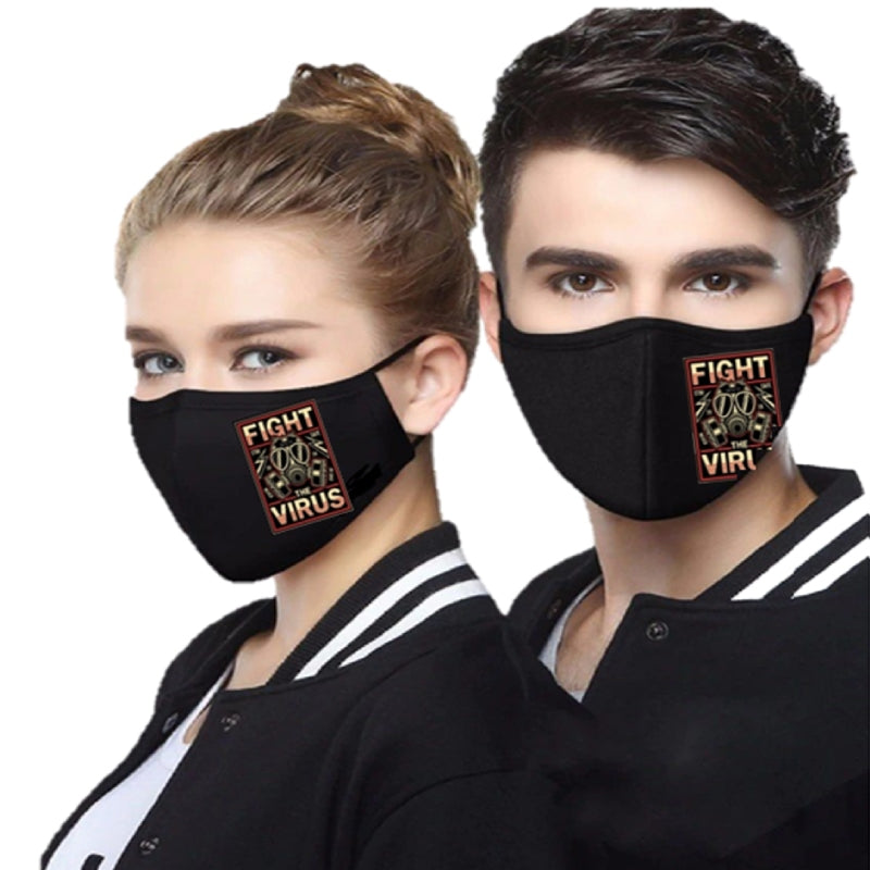 MOC Cotton Mask - FTV - Black