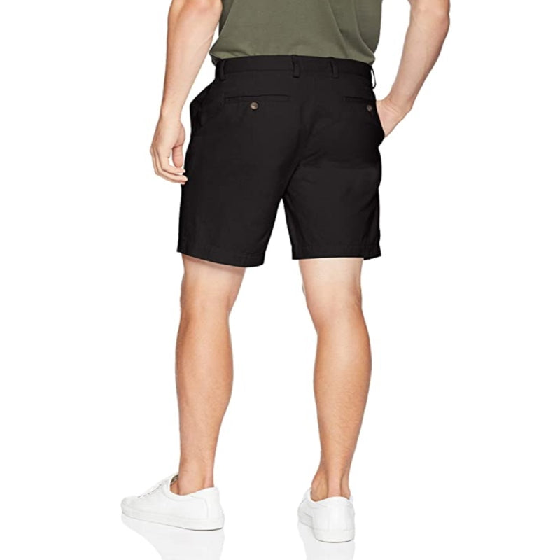 MOC Black Chino Shorts