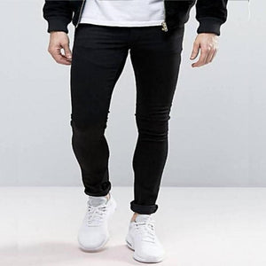 MOC Slim Fit Black Jeans