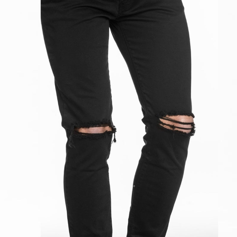 MOC Black Ripped Jeans