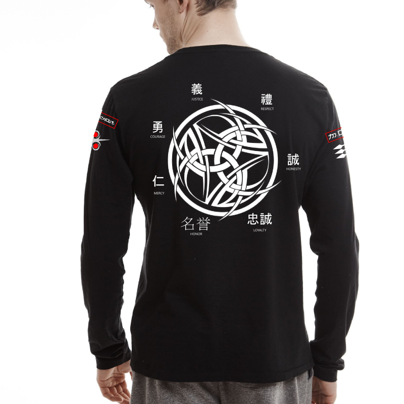 MOC Tribal X Japan Black L/S