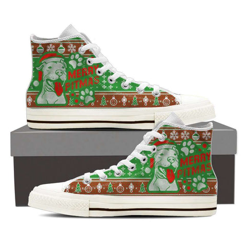 Merry Pitmas Women High Top Canvas Shoe - Footwear