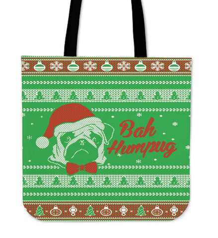 Bah Humpug Ugly Christmas Tote Bag - Bag