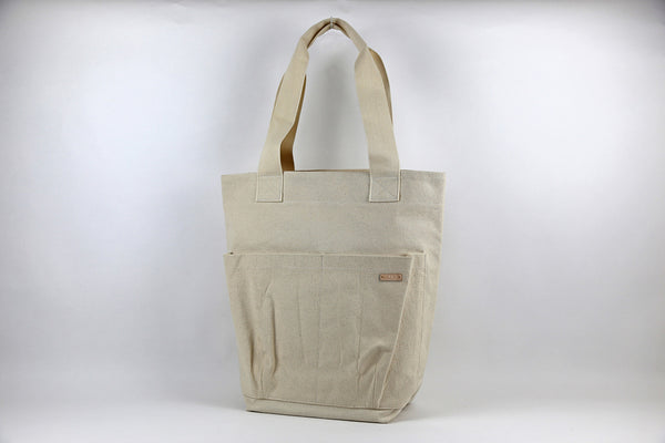 Natural Utility Tote Bag