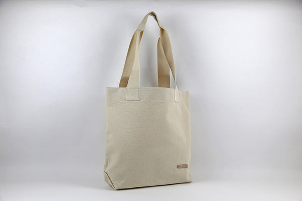 Natural Plain Tote Bag