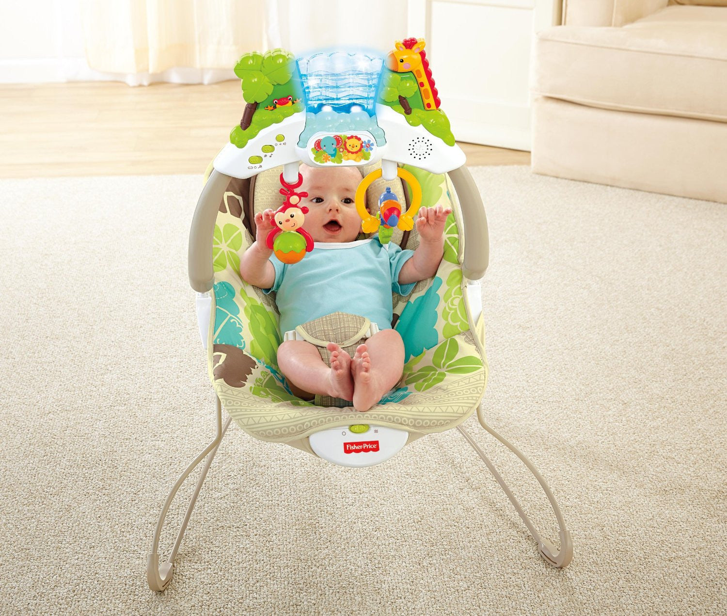 Products Tagged 60403 Smiling Rainbow Baby Store Bright Starts Ingenuity Smartbounce Automatic Bouncer Winslow