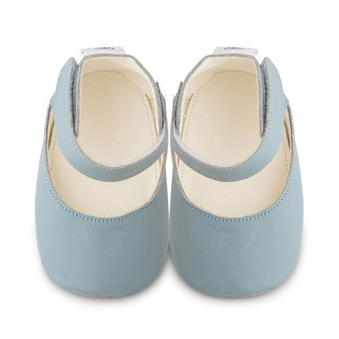 Shooshoos - Chloe Forever Blue Leather Shoes
