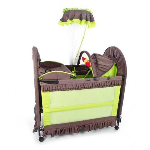 6 in 1 chelino camp cot green