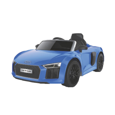 Audi R8 Spider Official Licensed Kids Ride on Car Battery Operated Yellow