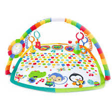 fisher price smiling rainbow baby bandstand