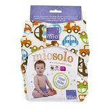 Bambino Mio Miosolo All In One Reusable Baby Nappy - Traffic Jam