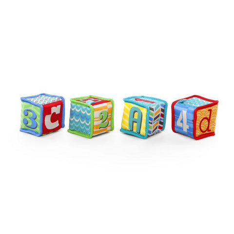 Bright Starts Grab & Stack Blocks baby shower gift