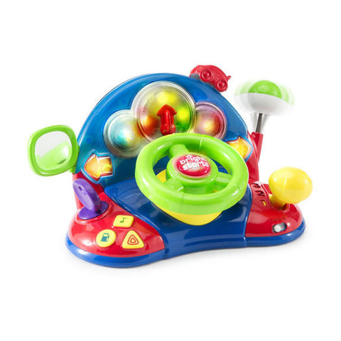 Bright Starts Lights & Colors Driver baby toy