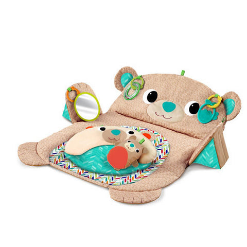Bright Starts Tummy Time Prop & Play - Bear Hugs