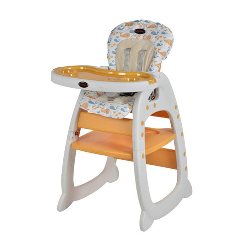 Chelino Angel 2 in 1 Baby Feeding Chair - New Orange