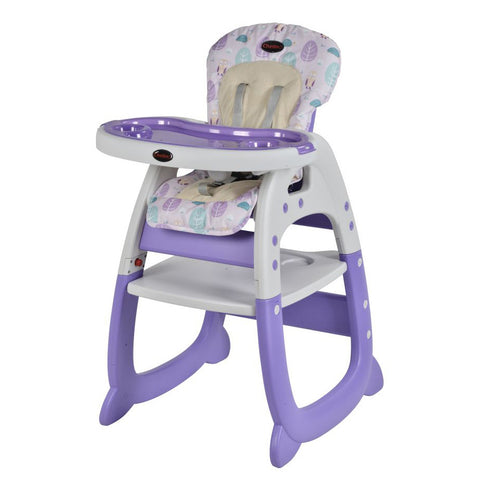 Chelino Angel Baby Feeding Chair purple high