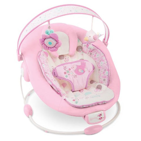 Comfort and Harmony Bright Starts Baby Bouncer Pink