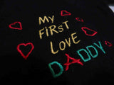 first love daddy clothing babywear