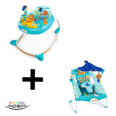 Disney Baby Finding Nemo Set | Walker + Bouncer