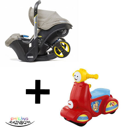 Doona Baby Car Seat Stroller Fisher-Price Scooter